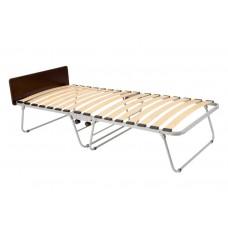 Основание кровати раскладной  на колёсной опоре со спинкой в изголовье