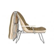 Раскладушка-кресло с подлокотниками